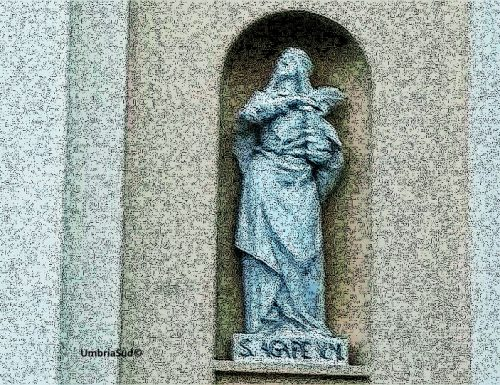 1649: ritrovate le reliquie di Agape, vergine e martire ternana