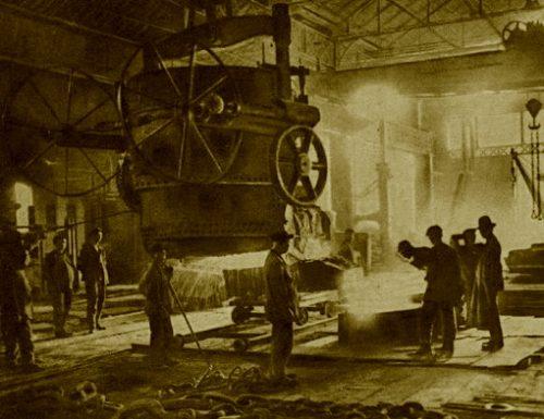 Terni 1906, operaio muore carbonizzato nell'acciaio fuso: in cinquemila ai funerali